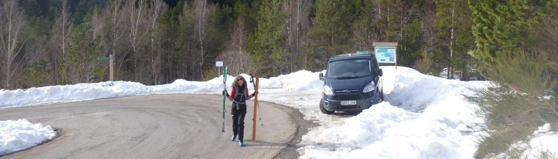 esquiar i dormir