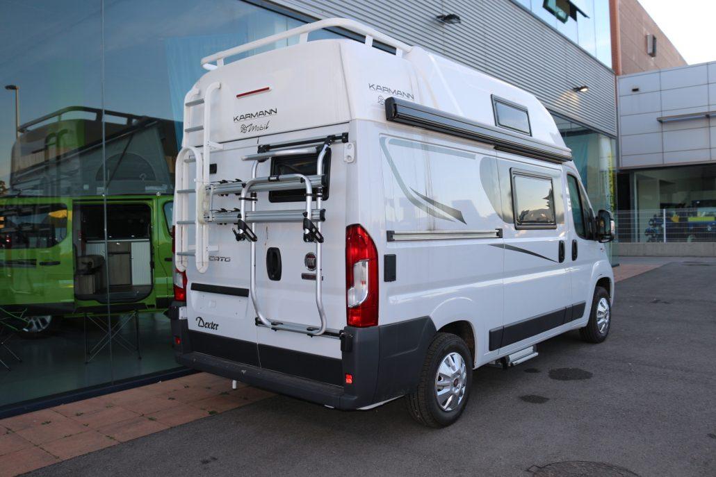 karmann dexter 550 furgonetes camper en venda. Black Bedroom Furniture Sets. Home Design Ideas