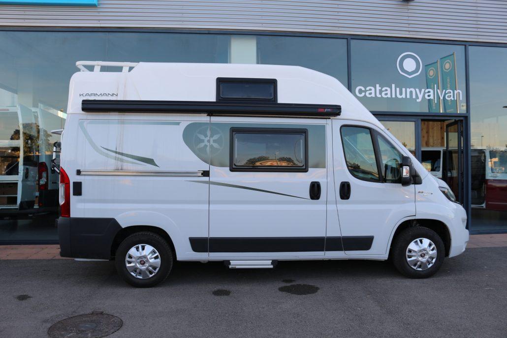 karmann dexter 550 furgonetas camper en venta. Black Bedroom Furniture Sets. Home Design Ideas