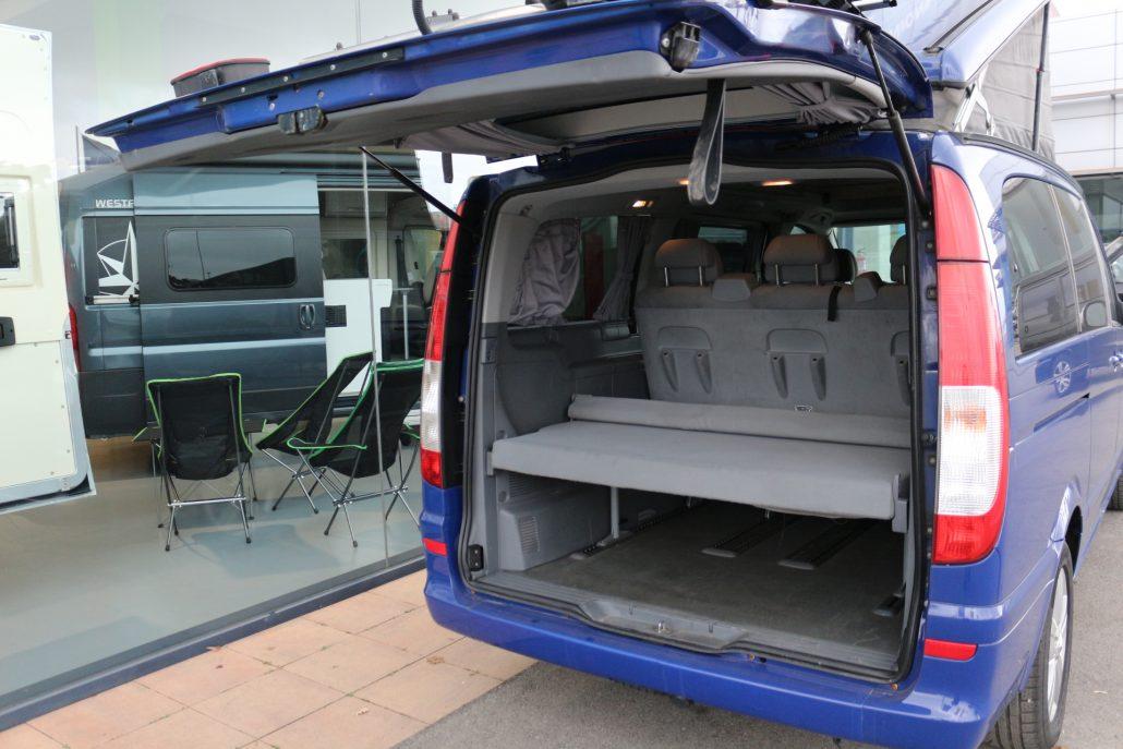 mercedes viano fun westfalia furgonetas camper en. Black Bedroom Furniture Sets. Home Design Ideas