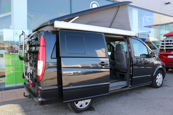 mercedes viano marco polo westfalia furgonetas camper en. Black Bedroom Furniture Sets. Home Design Ideas
