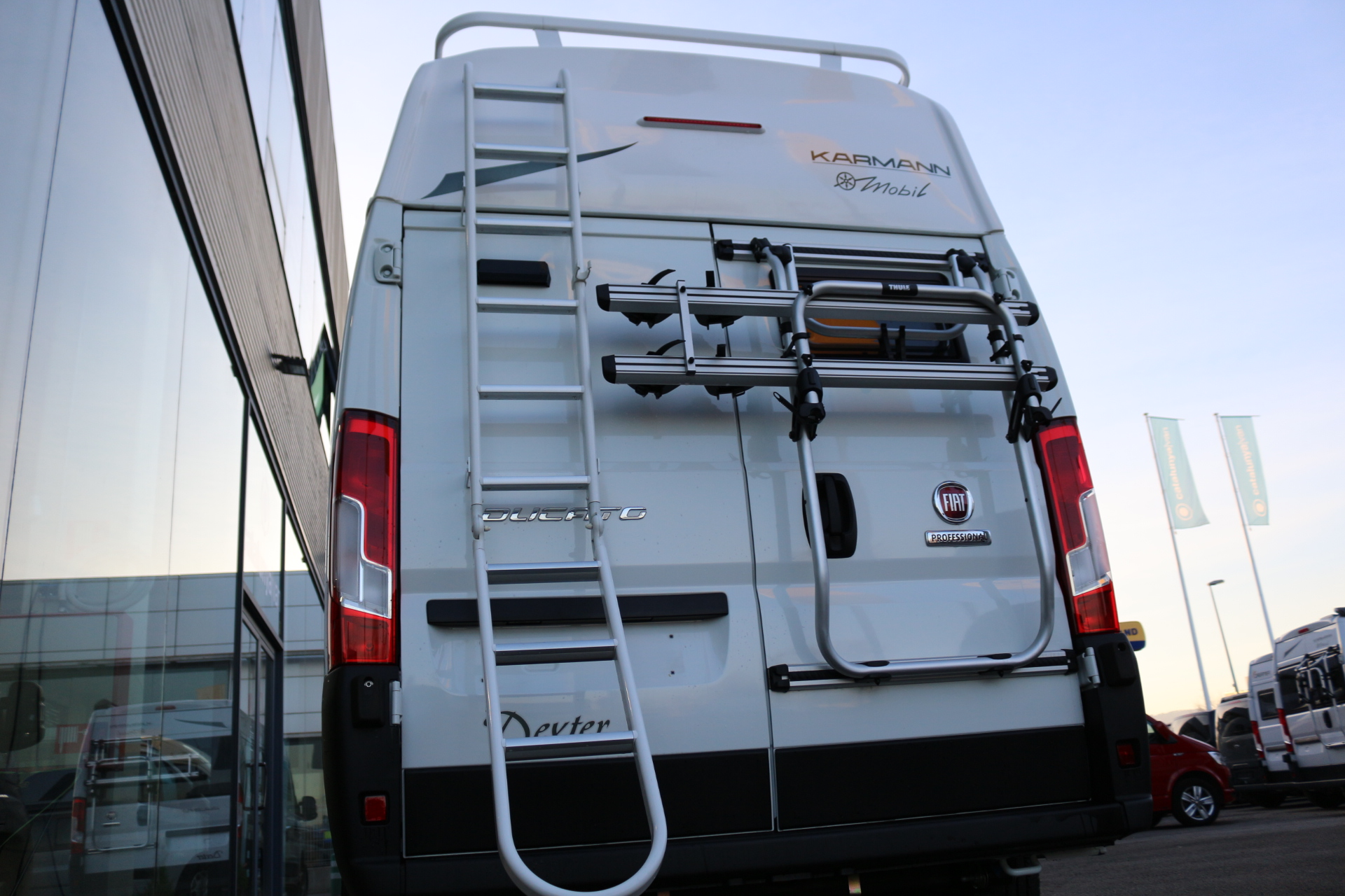 furgoneta camper karmann dexter 550 - Catalunya Van